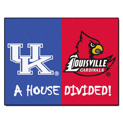 Image result for Cats vs cardinals Louisville House divided